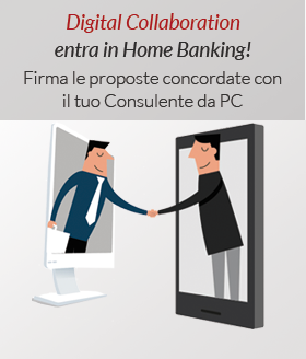 Digital Collaboration entra in Home Banking