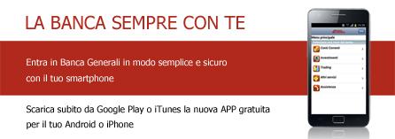 App Banca Generali Banca Generali It